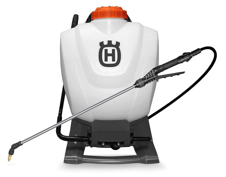 Husqvarna Sprayers, 4 Gallon Backpack, Orange/Gray