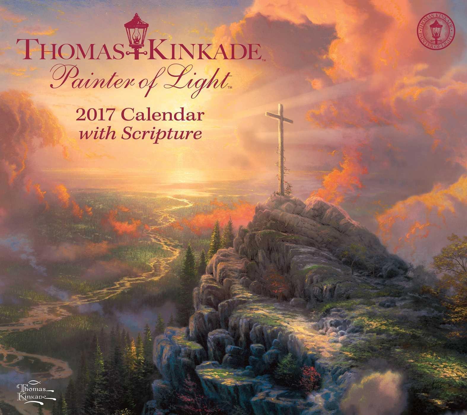 Thomas Kinkade Painter Scripture Calendar