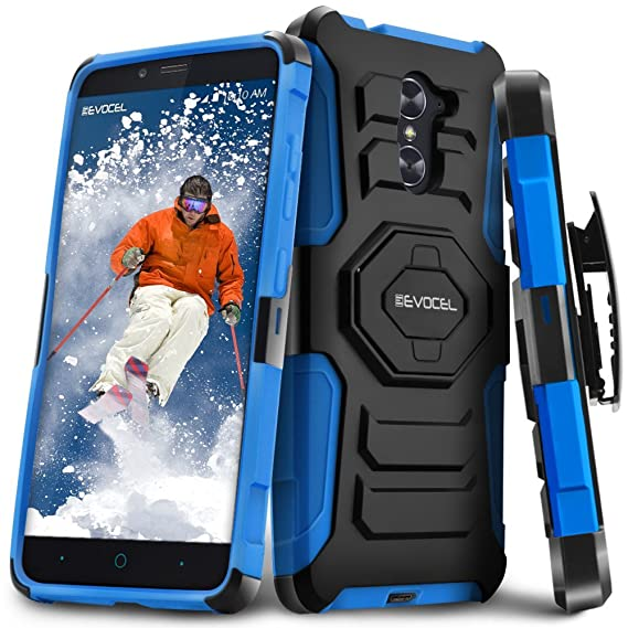 various colors 0bb8a acfd0 ZTE Grand X Max 2 / ZTE Max Duo/ZTE Imperial Max Case, Evocel [New  Generation Series] Belt Clip Holster, Kickstand, Dual Layer for ZTE Grand X  Max 2/ ...