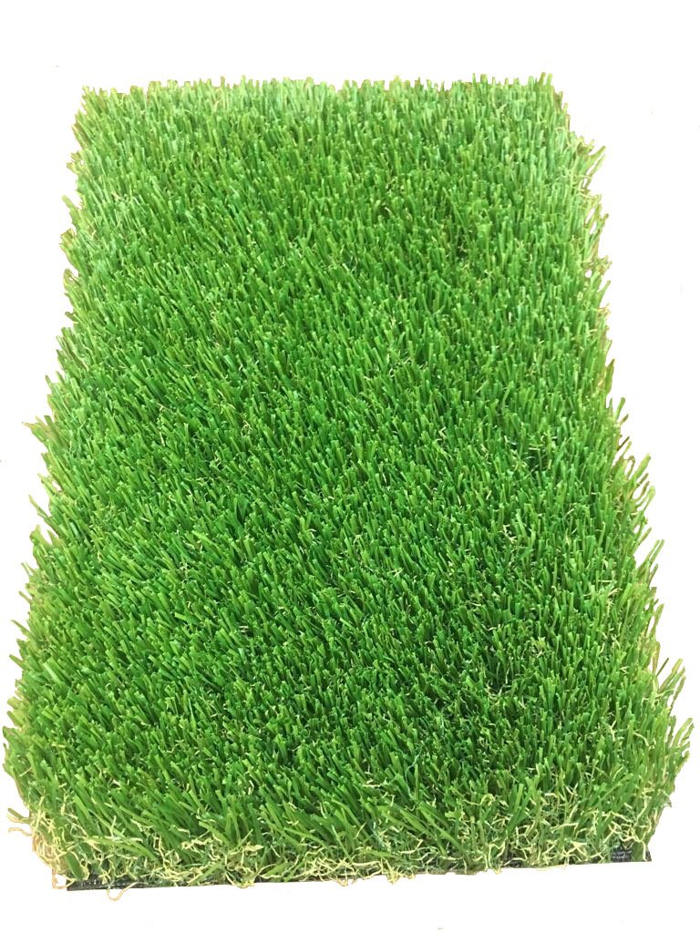 All Season Prime Synthetic Grass - Artificial Turf - Drainage Holes, 2'' blades Great for Sunny Climates (20' x 15')