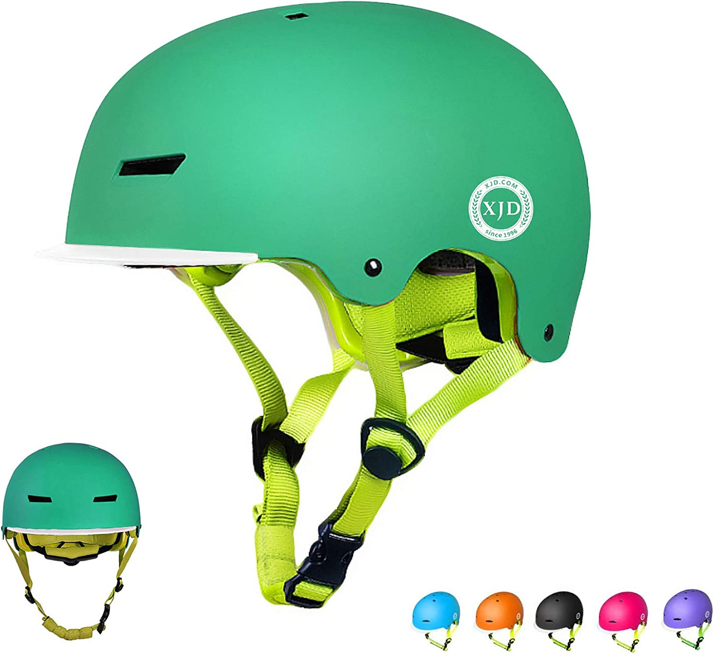 XJD Toddler Helmet Kids Bike Helmet Multi-Sport Cycling Helmet Adjustable Child Helmet Kids Bicycle Helmet Boys Girls Safety Skateboard Helmet Skating Scooter Youth Helmet