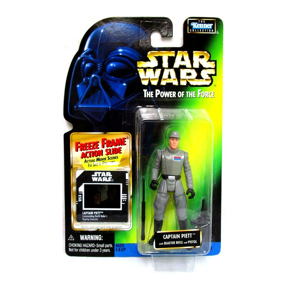 Star Wars Power of the Force Freeze Frame Captain Piett Action Figure