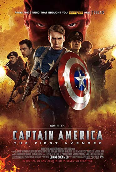 Image result for captain america movie poster
