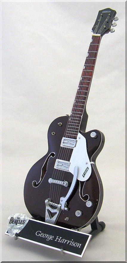 George Harrison - Guitarra tennesean en miniatura con púa de ...