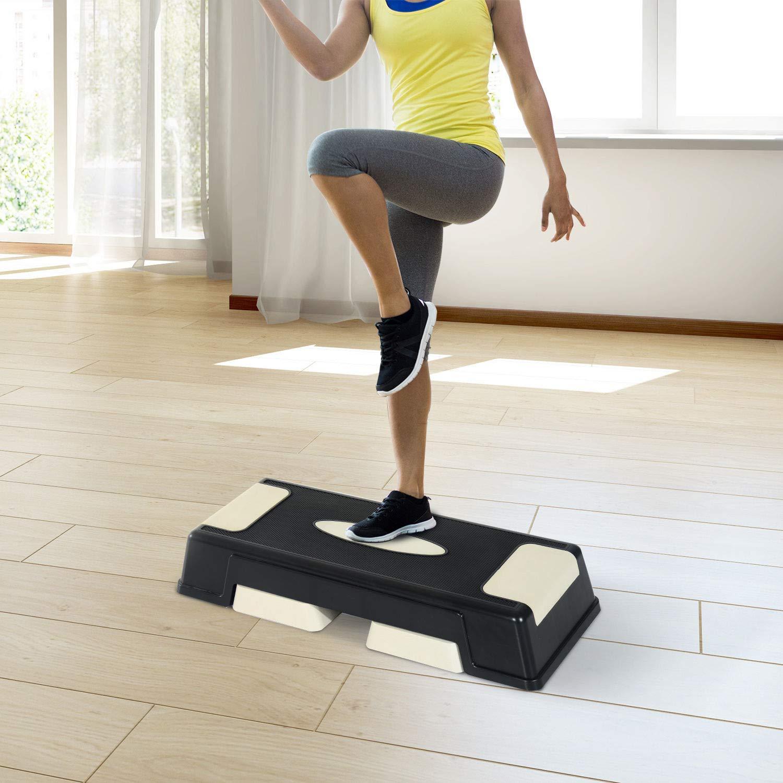 Step Fitness Tabla Stepper Aerobic Deporte Gimnasia Altura ...