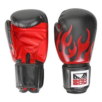 3cdaa8520 Luva de Boxe muay Thai Treino Bad Boy 12 Oz - Preto+vermelho - Único ...
