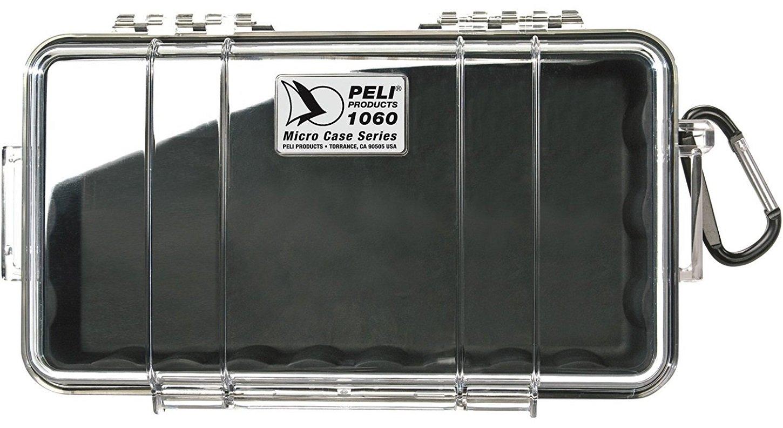 Peli 1060 - Caja micro, color amarillo 1060-027-100E