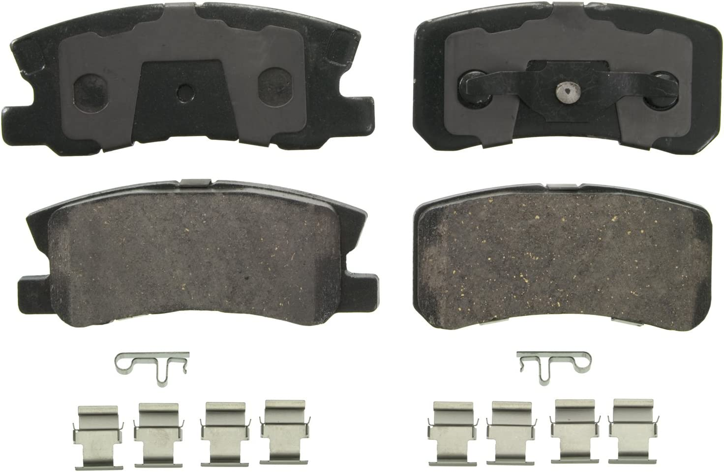 Outlander; Rear Bosch BC1037 QuietCast Premium Ceramic Disc Brake Pad Set For Select Chrysler 200 Patriot; Mitsubishi Lancer Caliber; Jeep Compass Sebring; Dodge Avenger