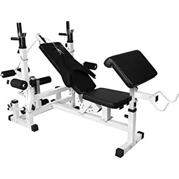 Attirant Gorilla Sports Universal Weight Bench Workstation