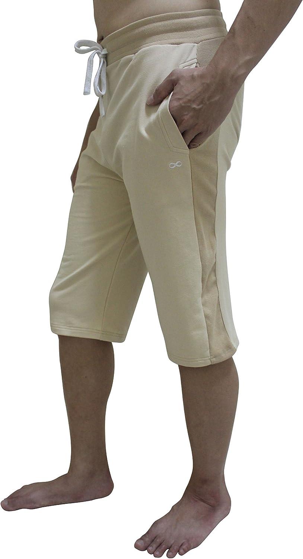 Outdoor Workout Pilates Fitness Gym YogaAddict Men Yoga Shorts for Any Yoga Comfortable Pants