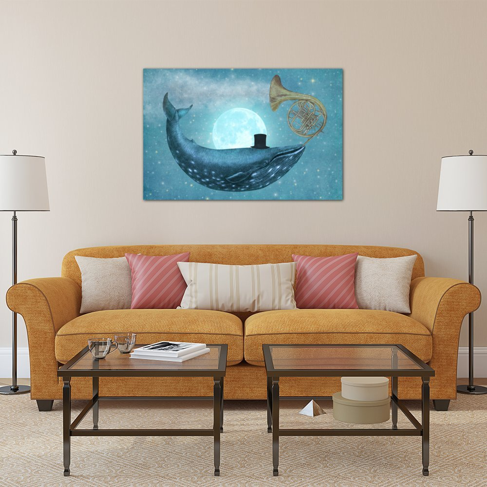 60 x 40//0.75 Depth iCanvasART 3 Piece Cloud Maker Canvas Print by Terry Fan