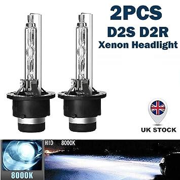 /2/PCS D2S 35/W 85122//85123//66040//53500/Ersatz 5000/K//6000/K//8000/K//10000/K wei/ß blau Xenon Lampen Scheinwerfer D2S HID OEM Leuchtmittel/