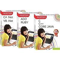 Inception Success Series -Learn C, C++, Core Java, ADO .NET, Ruby, C# (C Sharp), VB .NET ( 3 CDs)