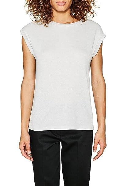 Esprit 077ee1k027, Camiseta para Mujer, Azul (Navy 400), X-Small