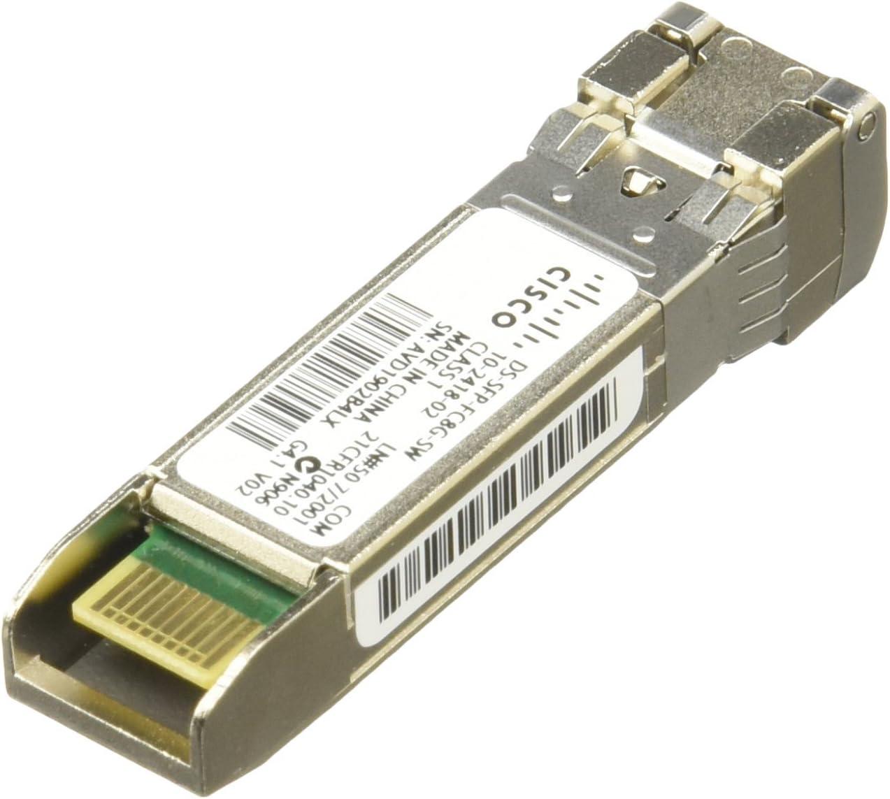 Cisco DS-SFP-FC8G-SW MDS 8GB Fibre CHNL SW SFP