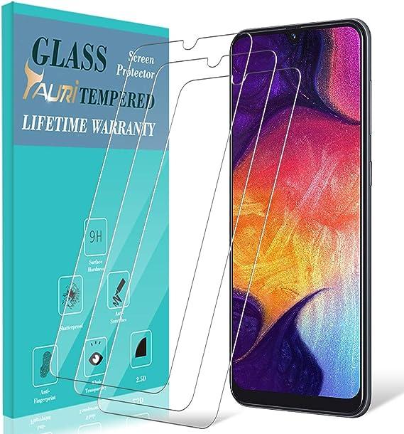 TAURI Protector de Pantalla para Samsung Galaxy A50 / M30 [3 ...
