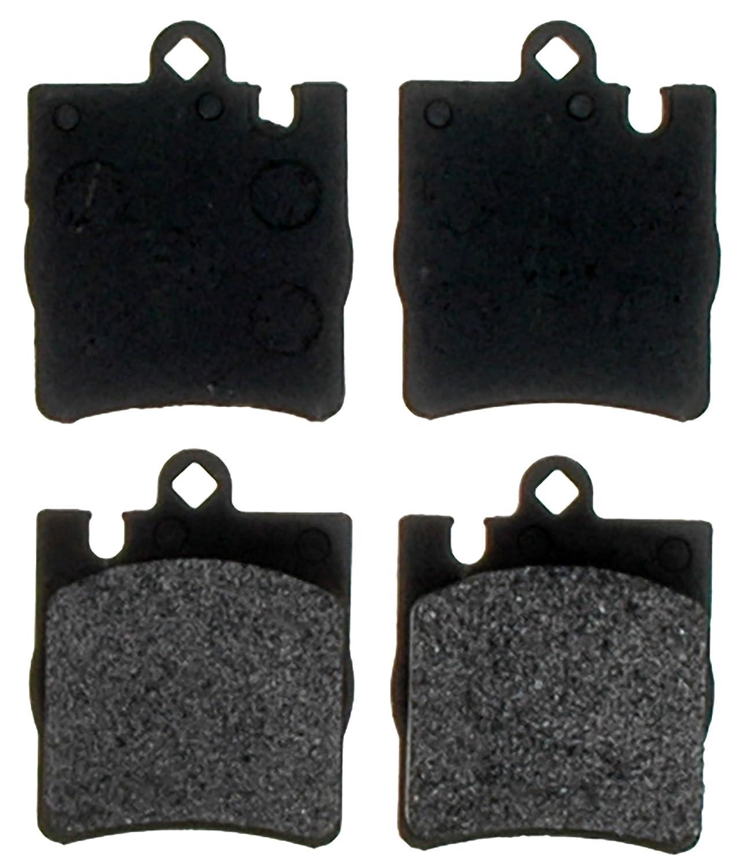 ACDelco 14D873M Advantage Semi-Metallic Rear Disc Brake Pad Set