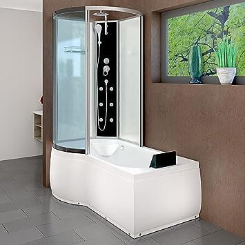 AcquaVapore DTP8050-A000R Wanne Duschtempel Badewanne Dusche ...