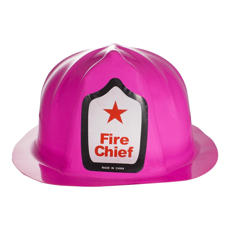 Red Plastic Fire Helmets Windy City Novelties