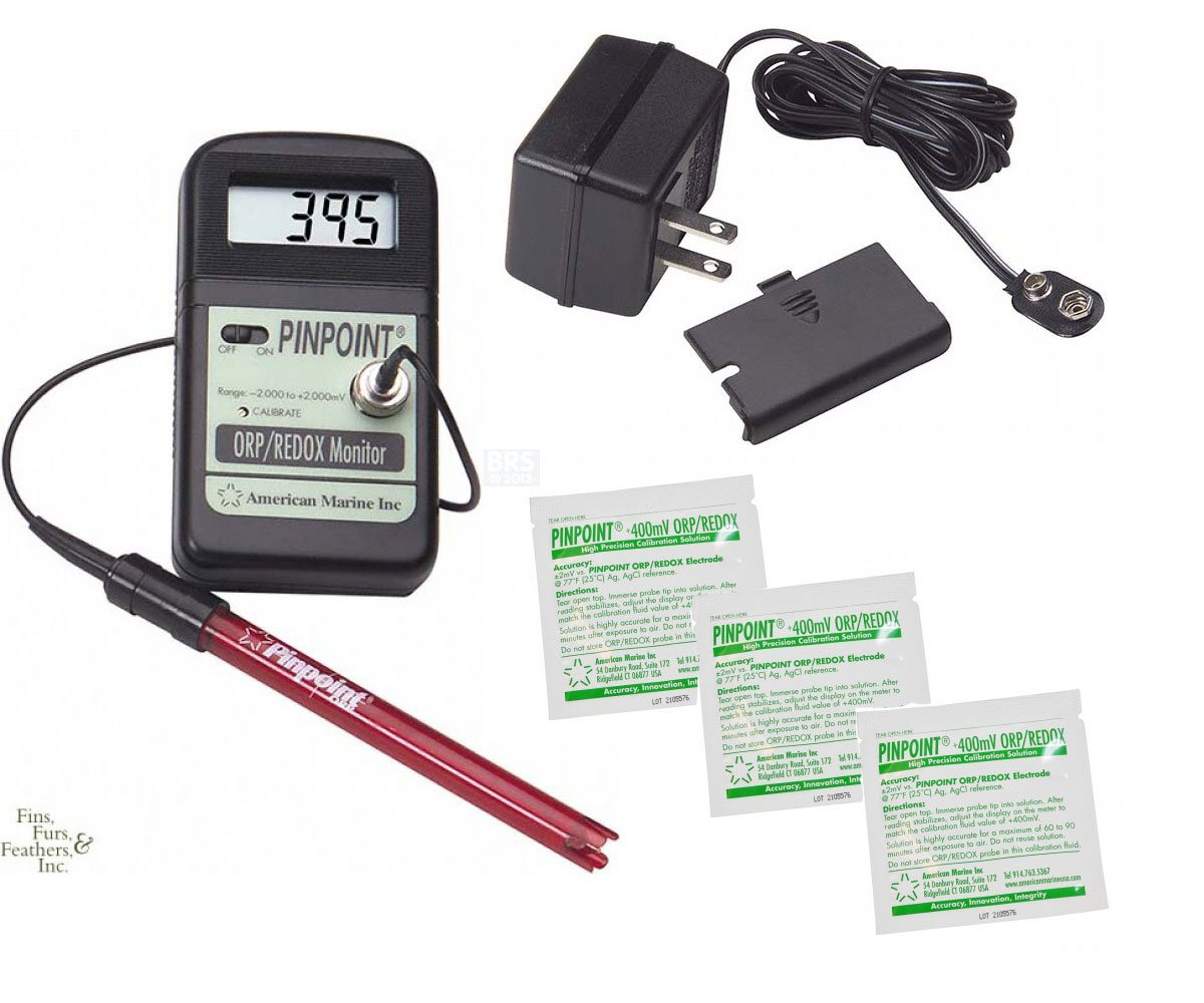 Pinpoint American Marine ORP/REDOX Monitor Package