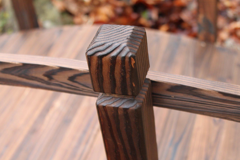 Gartenbr/ücke aus Holz 2 m breit