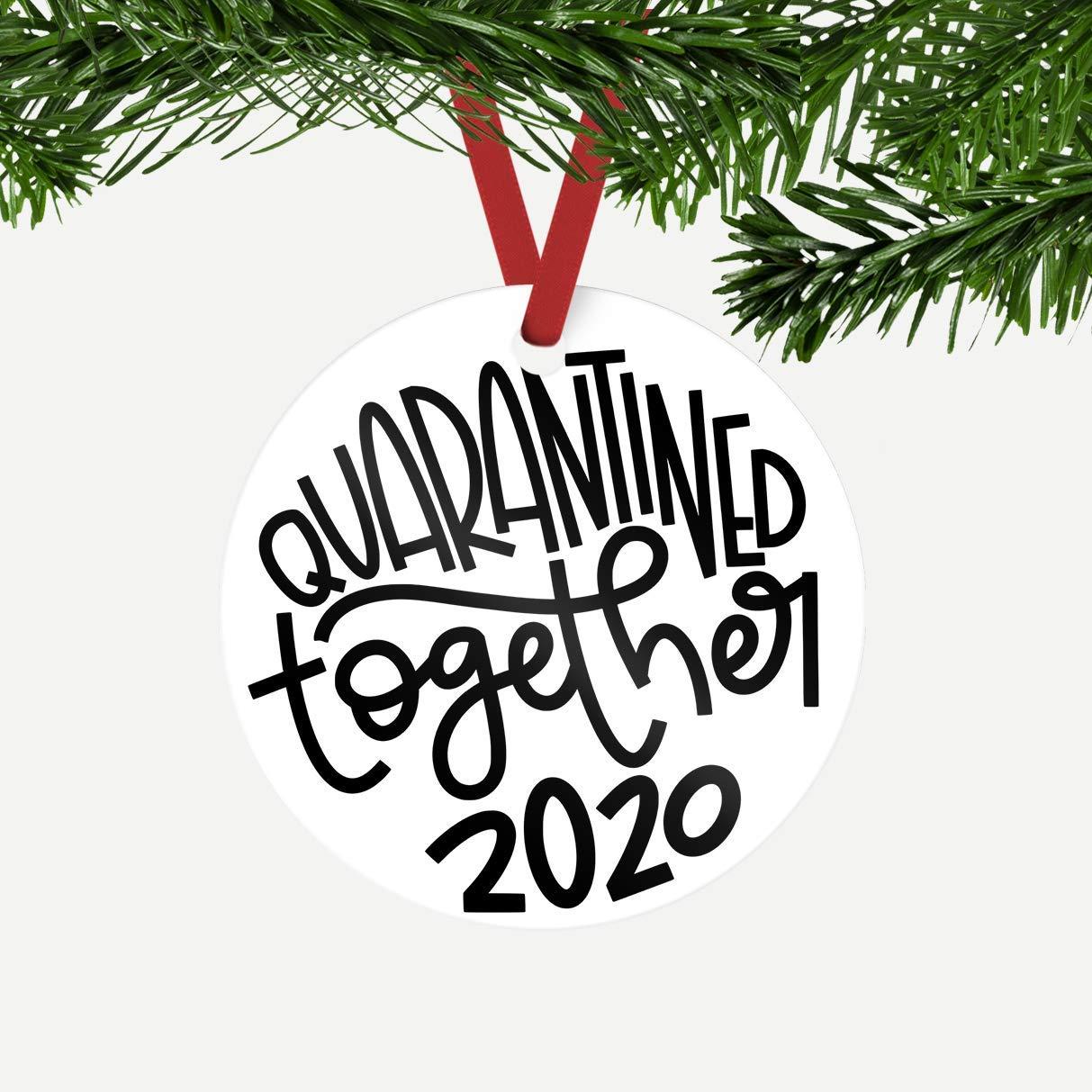 Quarantined Together 2020 Ornament