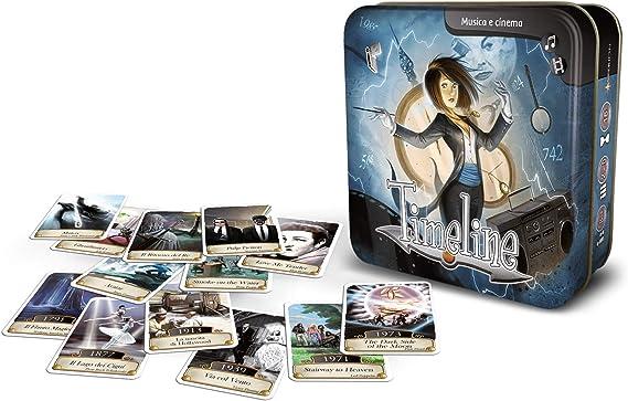 Asmodee-Timeline: Música y Cinema-Juego de Mesa Edición en Italiano (8267 Italia): Amazon.es: Juguetes y juegos