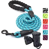 Ozpaw Dog Leash Long Durable Highly Reflective Lightweight Lead for Small Medium and Large Dogs - Blue