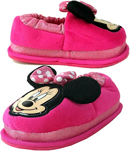 Baby//Toddler Minnie Mouse Girls Sock Top Slippers