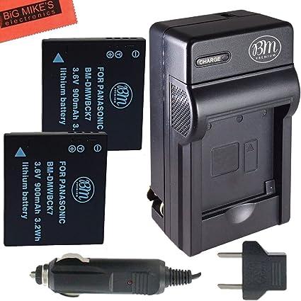 Dos Baterías Para PANASONIC DMW-BCK7 DMWBCK 7 DMW-BCK7PP NCA-YN101G Batería X 2