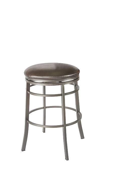Astonishing Amazon Com Steve Silver Milo Backless Swivel Bar Stool Ibusinesslaw Wood Chair Design Ideas Ibusinesslaworg
