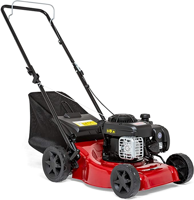 SPRINT 410P Push Petrol Lawn Mower - Best Space Saver