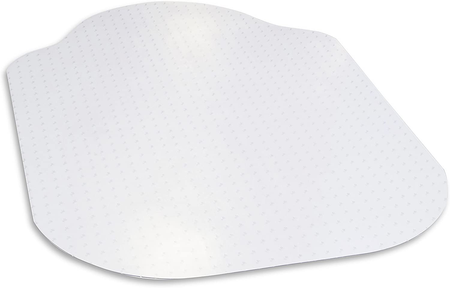 "Evolve Modern Shape 39""x 52"" Clear Office Chair Mat With Lip For Low Pile Carpet, Made in the USA By Dimex, Phthalate Free (C5C5003G)"