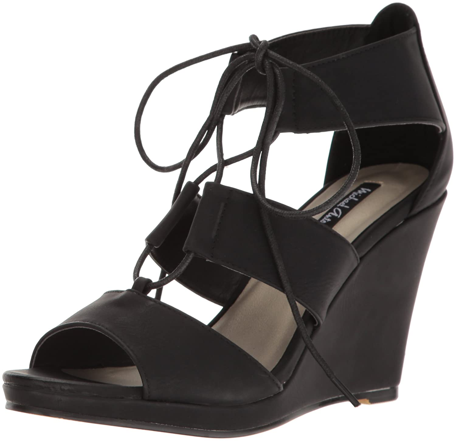 Michael Antonio Women's Andra Wedge US|Black Sandal B01N76WDK5 6.5 B(M) US|Black Wedge 999dff