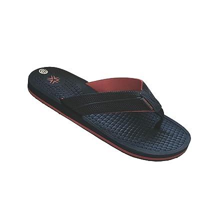 URBANFIND Men's Classic Flip Flops Summer Light Weight Shower Sandals Acupressure TPR Non-Slip Slippers | Sandals