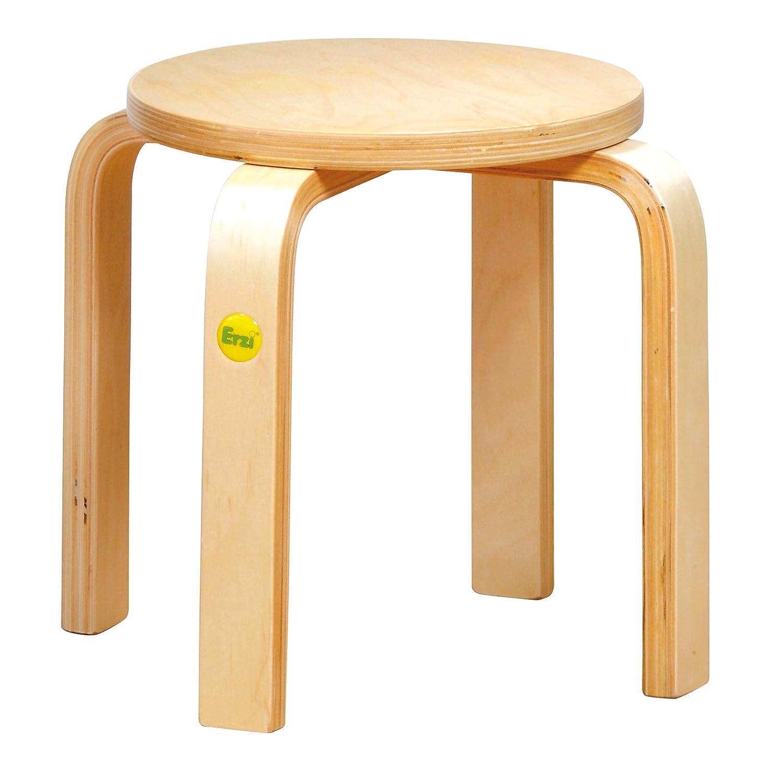 Terrific Erzi Molded Wood Stool German Wooden Toy 33 5 X 33 5 X 35 Cm Machost Co Dining Chair Design Ideas Machostcouk