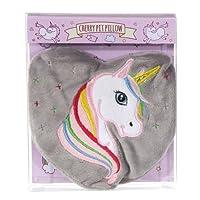 Rainbow Unicorn Fleece Heart Unscented Cherrystone Heat Pack