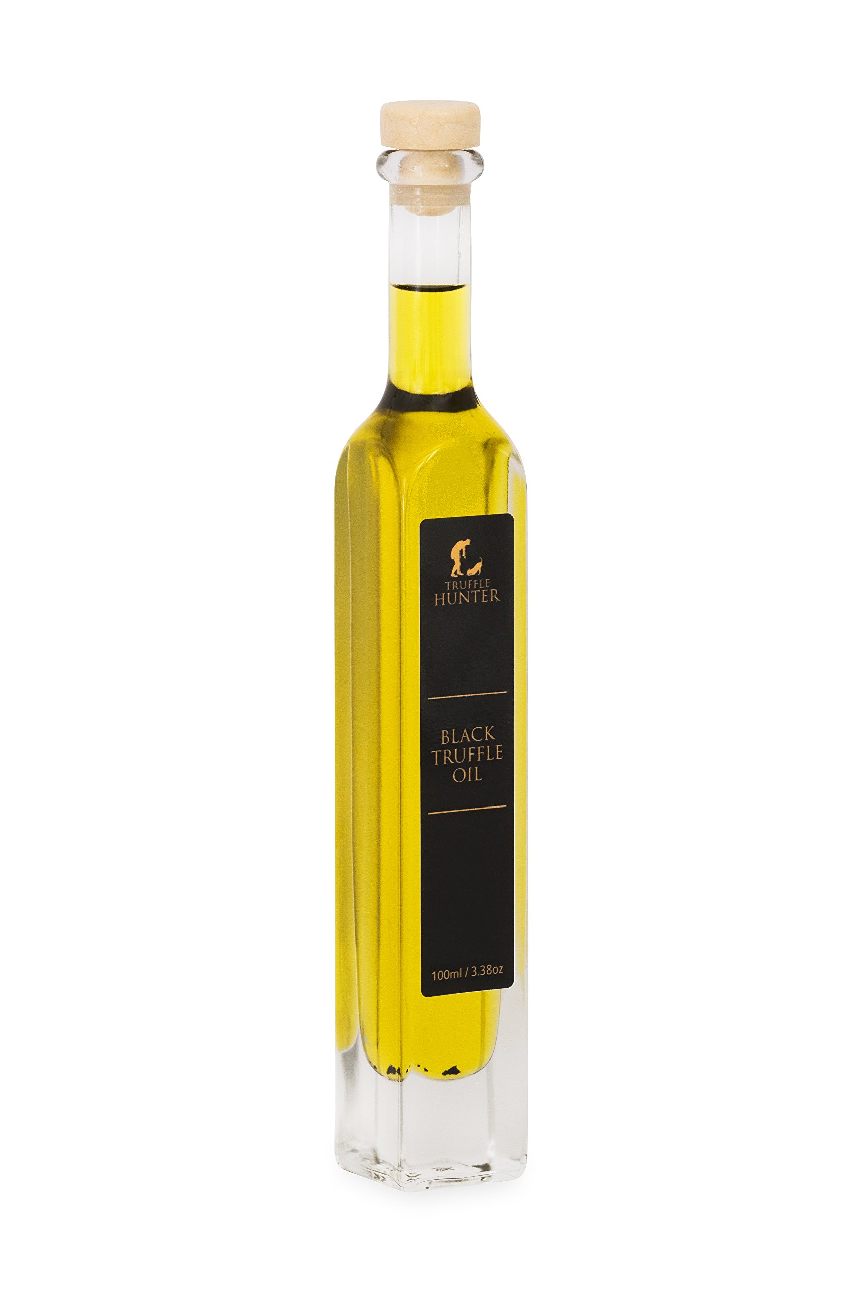 TruffleHunter Black Truffle Oil (3.38 Oz) [Double Concentrated]