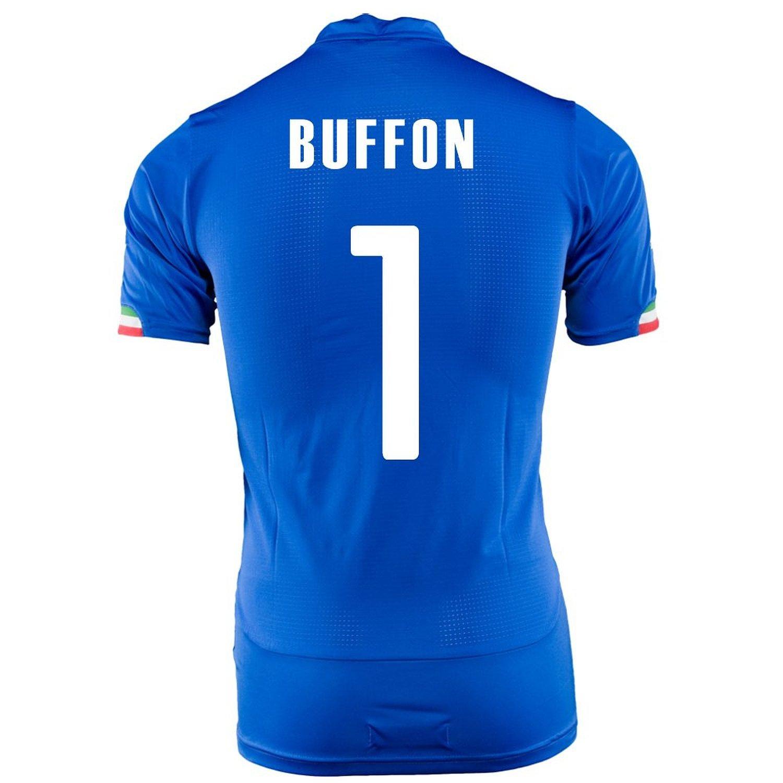 Puma Buffon #1 Italy Home Jersey World Cup 2014 -Youth/サッカーユニフォーム イタリア ホーム用 ブッフォン 背番号1 ワールドカップ2014 ジュニア向け B019G2FUDO Y-Large, シューズ ファッションSTREET BROS 7056421a
