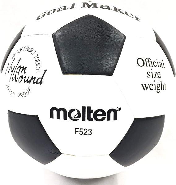 MOLTEN - Balón de fútbol para Hacer portería, Color Blanco y Negro ...