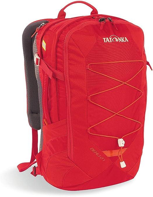 Tatonka Backpack In Dehli 50 X 26 X 14 Cm 27 Litres Red Red Size 50 X 26 X 14 Cm 27 Liter Amazon De Bekleidung
