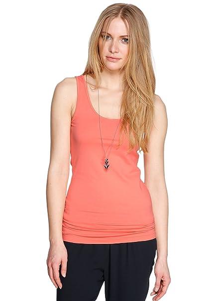 s.Oliver - Camisetas sin mangas con cuello redondo para mujer, talla 38,