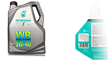 Selenia, WR 5 W40 - 5 litros de aceite para motor, original ...