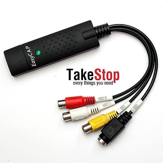 64 opinioni per takestop® EASYCAP CONVERT SCHEDA ACQUISIZIONE USB- CONVERTITORE AUDIO VIDEO DA