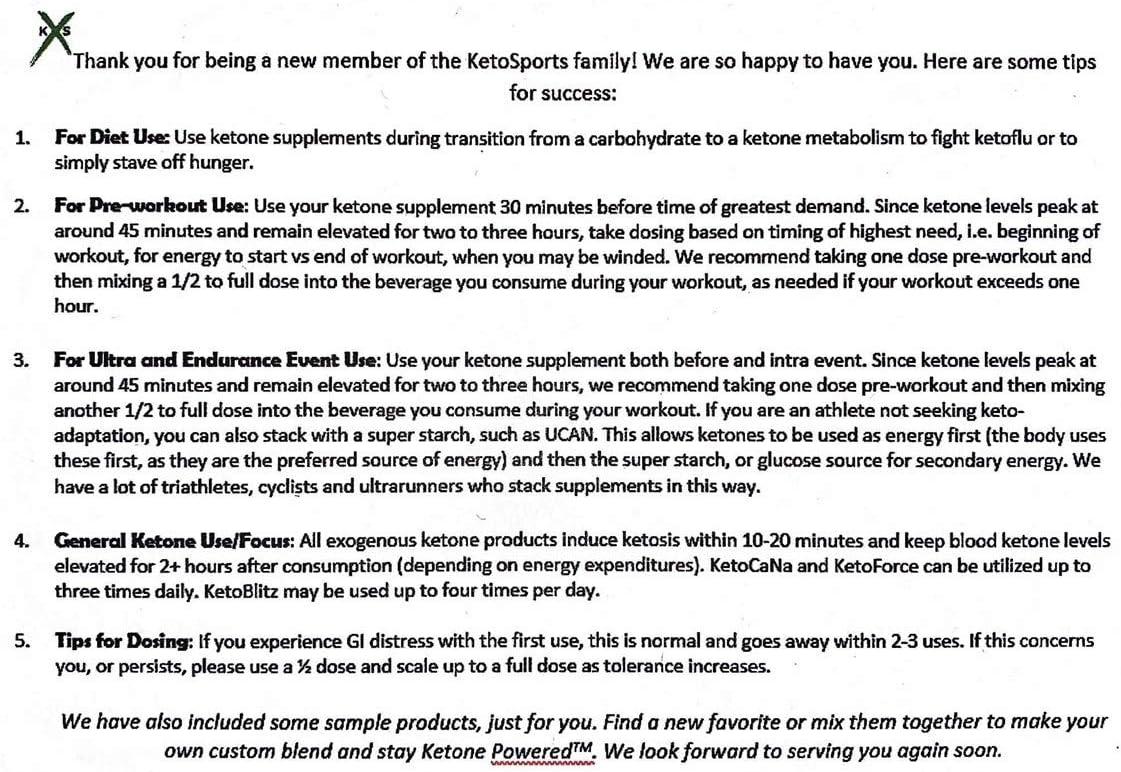 KetoSports KetoForce Dietary Supplement, 16 Fluid Ounce