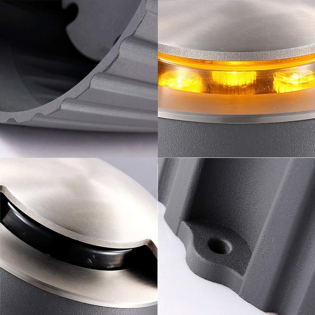 Color : White light 6000K Esterno Faretto Da Incasso Allaperto Impermeabile Luce Del Giardino Villa Prato Irradiazione Pianta Illuminazione Paesaggistica