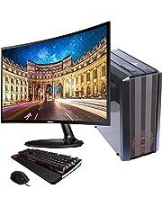 "SUPERTIENDA Computadora CPU PC Gamer Ryzen 5 3400g Radeon Vega 11 1tb ddr4 Monitor Full HD Ultra Wide 24"""