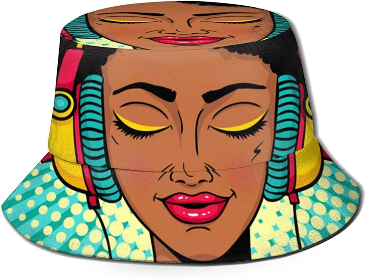 Young Woman Bucket Hat...