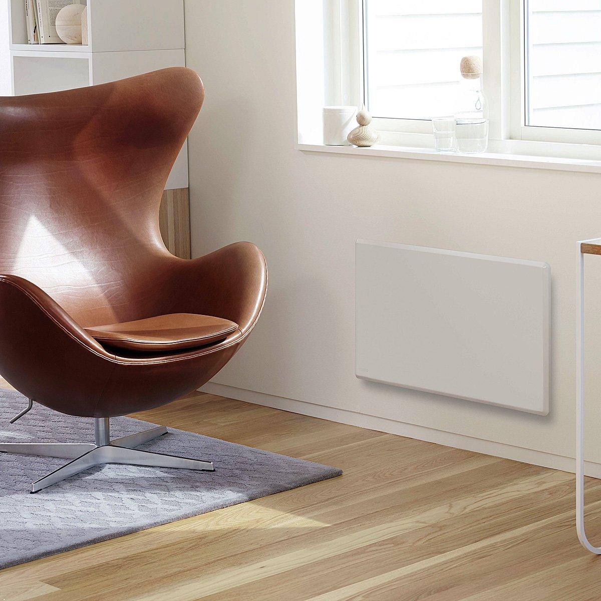 completo de termostato digital ncu-2te conforme a la norma eurepea ERP 2018 ideal hasta a 20/m/² Radiador el/éctrico Noruega NOBO 1000/W