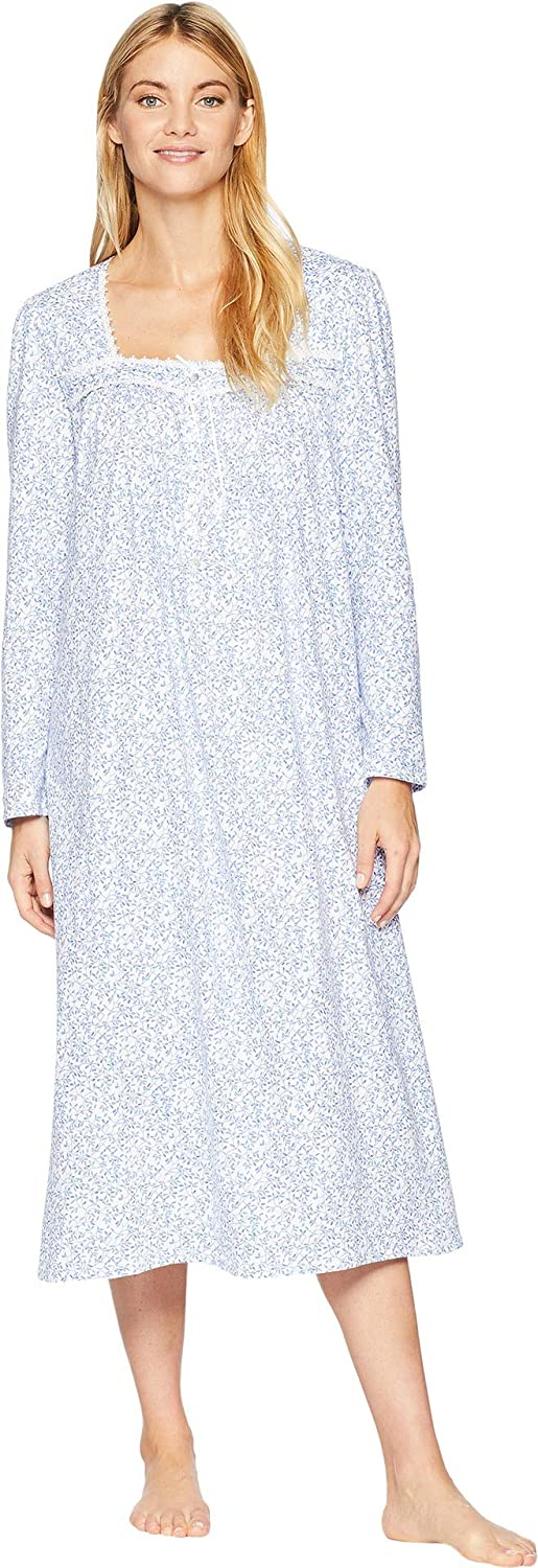 Eileen West Womens Cotton Jersey Ballet Long Sleeve Nightgown C5819905-452
